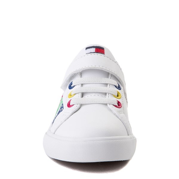 alternate view Tommy Hilfiger Arrin Casual Shoe - Baby / Toddler - White / MultiALT4