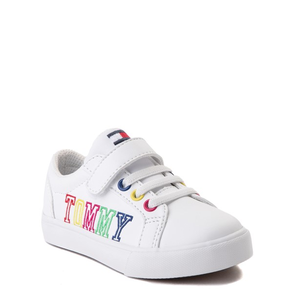 alternate view Tommy Hilfiger Arrin Casual Shoe - Baby / Toddler - White / MultiALT5