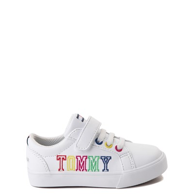 Main view of Tommy Hilfiger Arrin Casual Shoe - Baby / Toddler - White / Multi