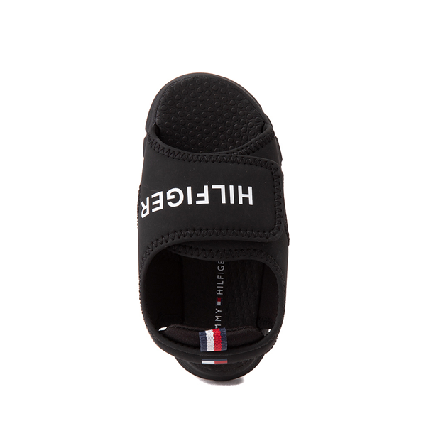 alternate view Tommy Hilfiger Shayde Sandal - Baby / Toddler - BlackALT2