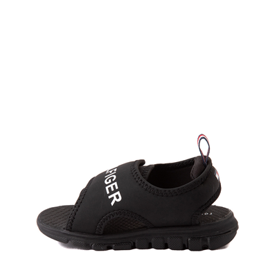 Alternate view of Tommy Hilfiger Shayde Sandal - Baby / Toddler - Black