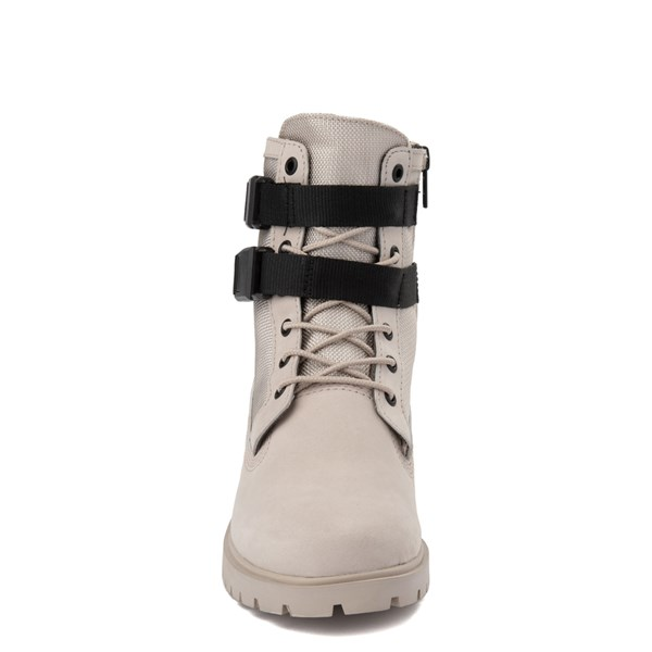 "alternate view Womens Timberland Jayne 6"" Double Buckle Boot - TaupeALT4"