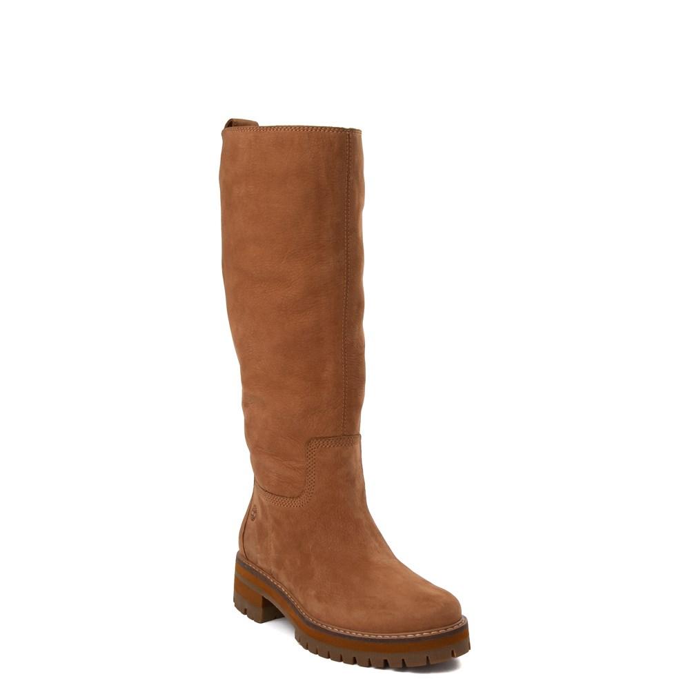Womens Timberland Courmayeur Valley Tall Boot Brown