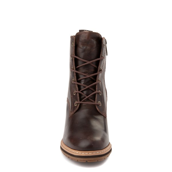 alternate view Womens Timberland Sienna High Boot - Dark BrownALT4