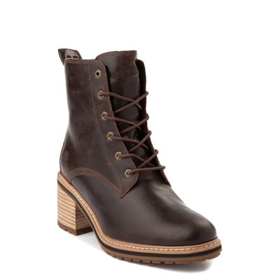 Alternate view of Womens Timberland Sienna High Boot - Dark Brown