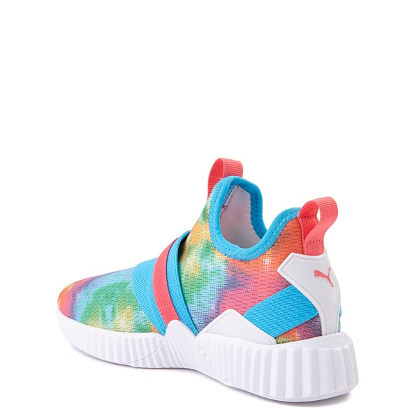alternate view Puma Defy Mid Tie Dye Athletic Shoe - Big Kid - MultiALT2