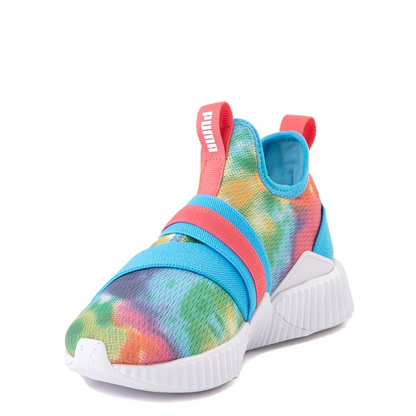 alternate view Puma Defy Mid Tie Dye Athletic Shoe - Big Kid - MultiALT3