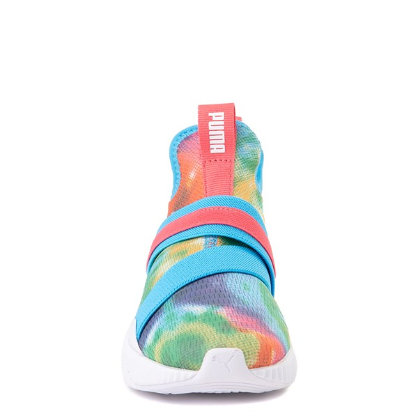alternate view Puma Defy Mid Tie Dye Athletic Shoe - Big Kid - MultiALT4