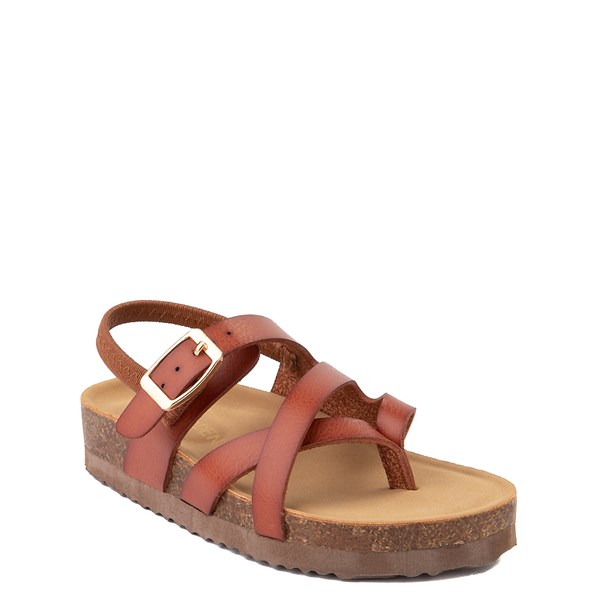 alternate view Steve Madden Bartlet Sandal - Toddler / Little Kid - CognacALT1