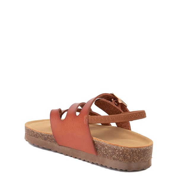 alternate view Steve Madden Bartlet Sandal - Toddler / Little Kid - CognacALT2