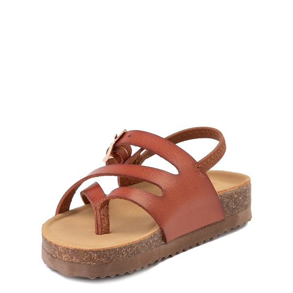 alternate view Steve Madden Bartlet Sandal - Toddler / Little Kid - CognacALT3
