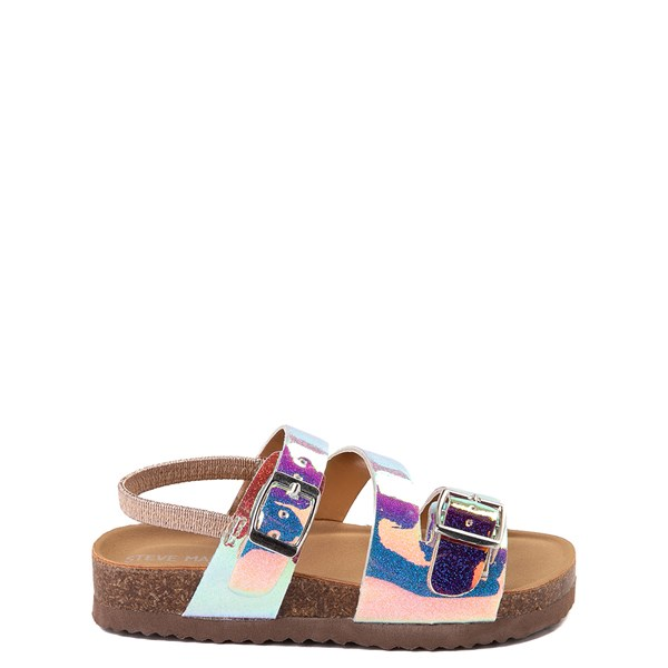 Main view of Steve Madden Patzey Glitter Sandal - Toddler / Little Kid - Multi