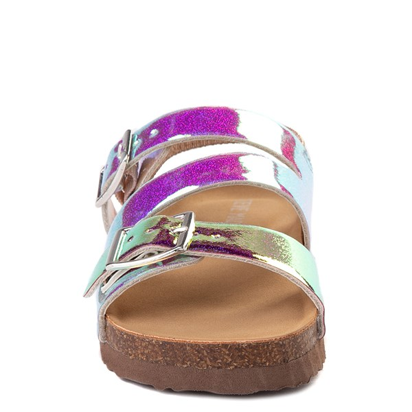 alternate view Steve Madden Patzey Glitter Sandal - Toddler / Little Kid - MultiALT4