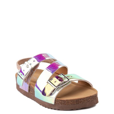 Alternate view of Steve Madden Patzey Glitter Sandal - Toddler / Little Kid - Multi