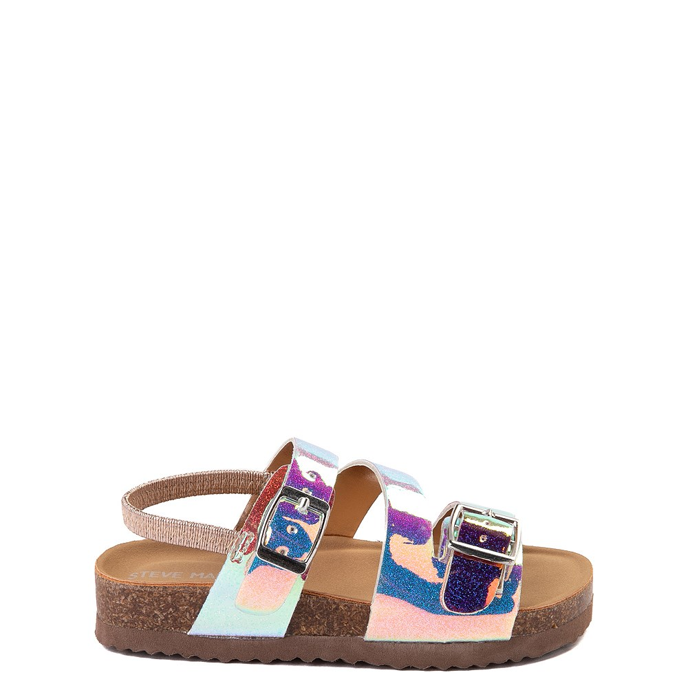 Steve Madden Patzey Glitter Sandal - Toddler / Little Kid - Multi