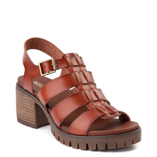 alternate view Womens MIA Tahna Gladiator Sandal - LuggageALT1