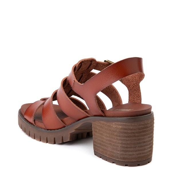 alternate view Womens MIA Tahna Gladiator Sandal - LuggageALT2