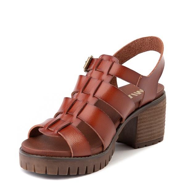 alternate view Womens MIA Tahna Gladiator Sandal - LuggageALT3