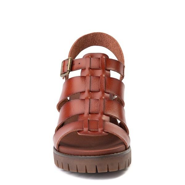 alternate view Womens MIA Tahna Gladiator Sandal - LuggageALT4