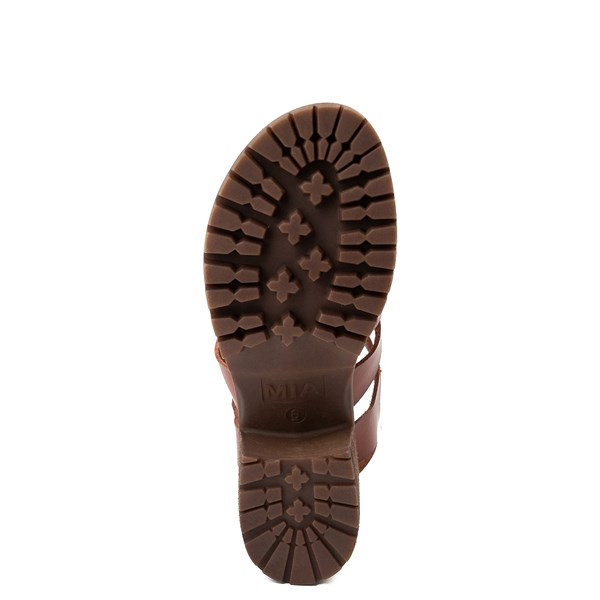 alternate view Womens MIA Tahna Gladiator Sandal - LuggageALT5