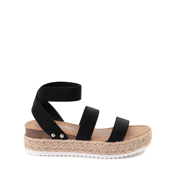 Main view of Sarah-Jayne Bryce Platform Sandal - Little Kid / Big Kid - Black