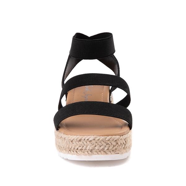 alternate view Sarah-Jayne Bryce Platform Sandal - Little Kid / Big Kid - BlackALT4