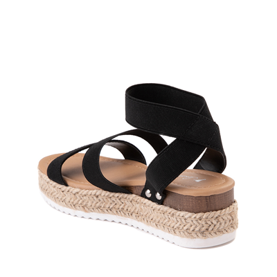 Alternate view of Sarah-Jayne Bryce Platform Sandal - Little Kid / Big Kid - Black
