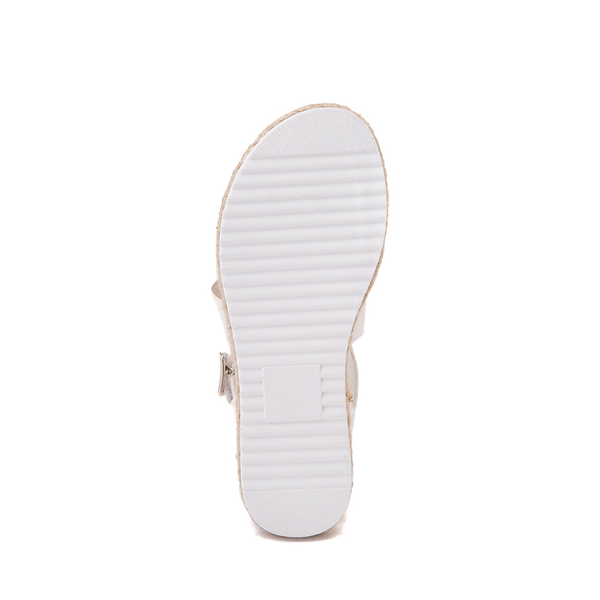 alternate view Sarah-Jayne Bryce Platform Sandal - Little Kid / Big Kid - WhiteALT3