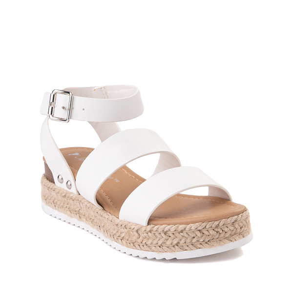 alternate view Sarah-Jayne Bryce Platform Sandal - Little Kid / Big Kid - WhiteALT5