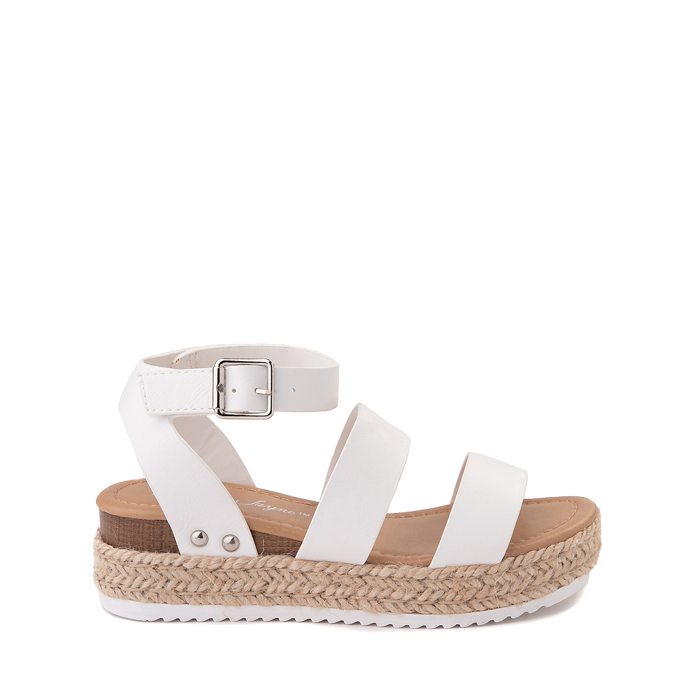 Sarah-Jayne Bryce Platform Sandal - Little Kid / Big Kid - White