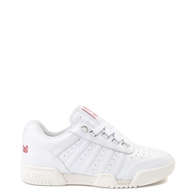 Main view of Mens K-Swiss x Boyz N The Hood GSTAAD '86 Heritage Athletic Shoe - White