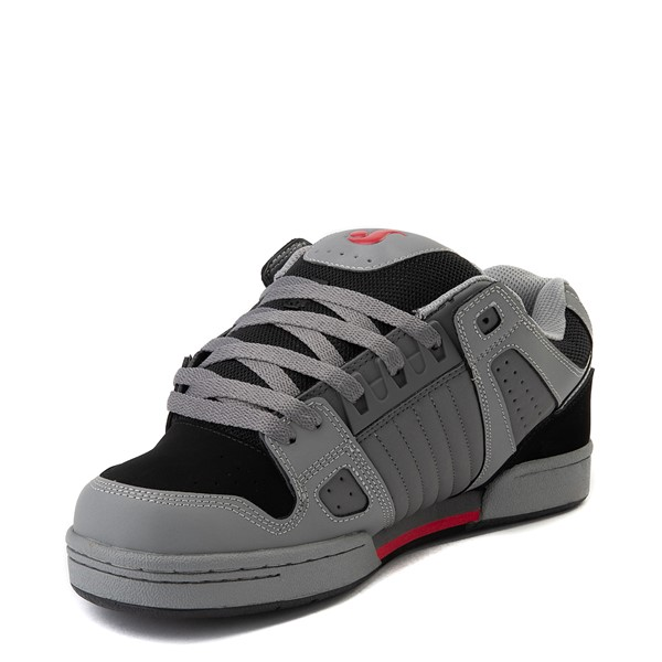 alternate view Mens DVS Celsius Skate Shoe - Charcoal / Gray / RedALT2