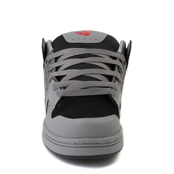 alternate view Mens DVS Celsius Skate Shoe - Charcoal / Gray / RedALT4