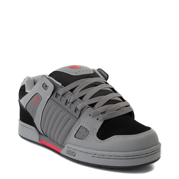 alternate view Mens DVS Celsius Skate Shoe - Charcoal / Gray / RedALT5