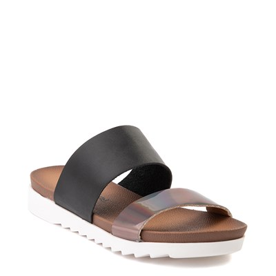 Alternate view of Womens Dirty Laundry Can't Stop Slide Sandal - Black