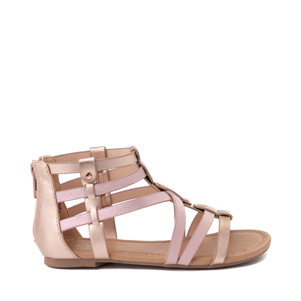 Sarah Jayne Pebbles Gladiator Sandal - Little Kid / Big Kid - Rose Gold