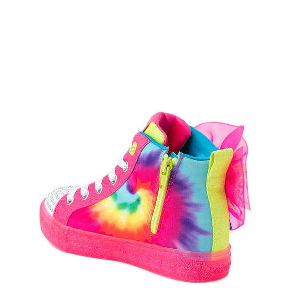 alternate view Skechers Twinkle Toes Shuffle Brights Neon - Little Kid - MultiALT2
