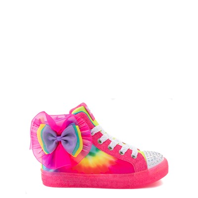 Main view of Skechers Twinkle Toes Shuffle Brights Neon - Little Kid - Multi
