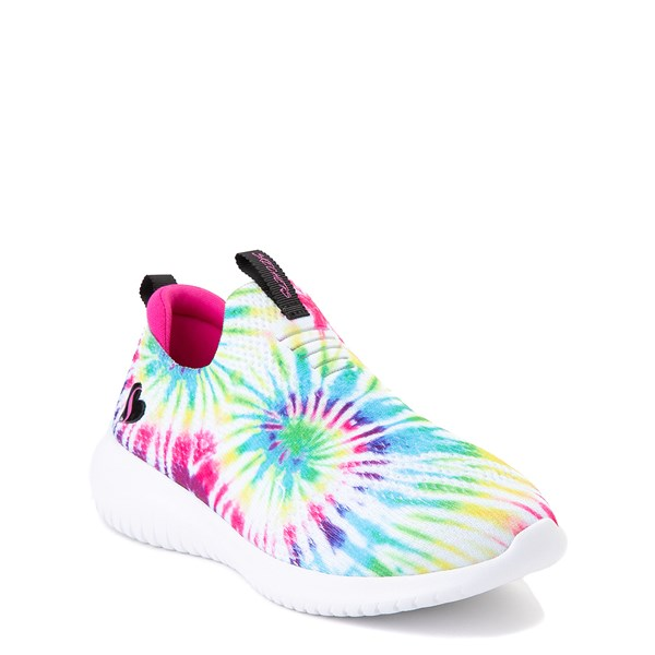 alternate view Skechers Ultra Flex Groovin' Vibes Sneaker - Little Kid - MultiALT1