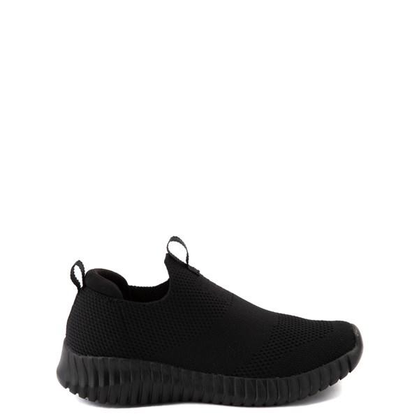 Default view of Skechers Elite Flex Wasick Sneaker - Little Kid - Black Monochrome