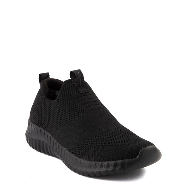 Alternate view of Skechers Elite Flex Wasick Sneaker - Little Kid - Black Monochrome