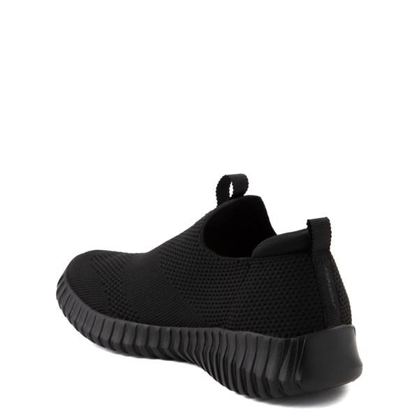alternate view Skechers Elite Flex Wasick Sneaker - Little Kid - Black MonochromeALT2