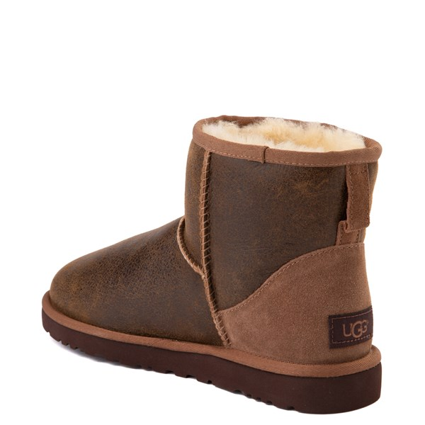 alternate view Mens UGG® Classic Mini Bomber Boot - Bomber Jacket ChestnutALT2