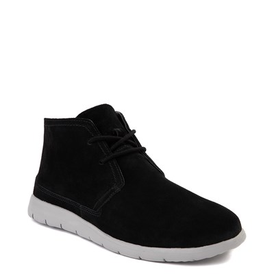 Alternate view of Mens UGG® Dustin Chukka Boot - Black