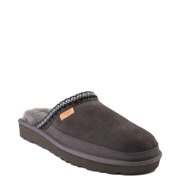 Alternate view of Mens UGG® Tasman Slipper - Dark Gray