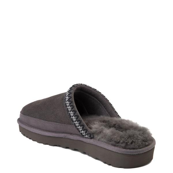 alternate view Mens UGG® Tasman Slipper - Dark GrayALT2