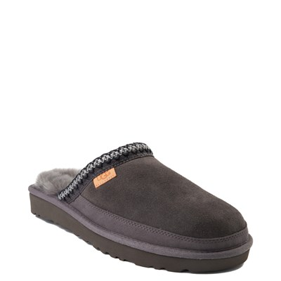 Alternate view of Mens UGG® Tasman Slipper - Dark Gray