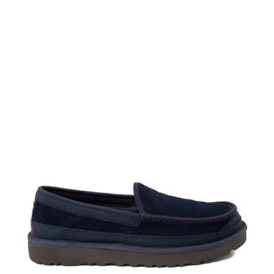 Main view of Mens UGG® Dex Slip On Casual Shoe - Dark Sapphire