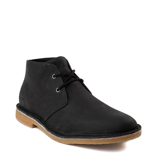 alternate view Mens UGG® Groveland Chukka Boot - BlackALT1
