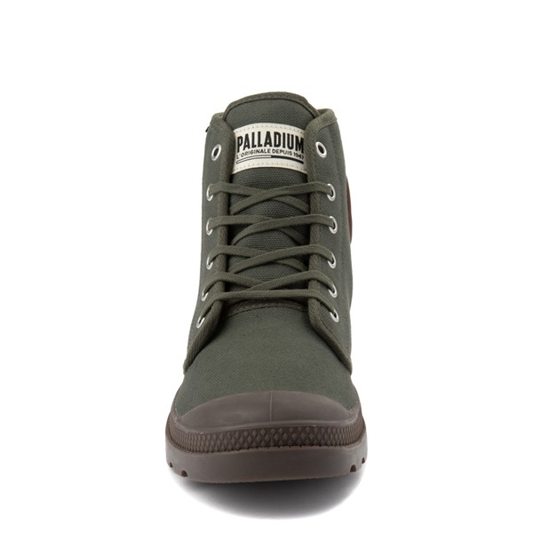 alternate view Palladium Pampa Hi Originale Boot - OliveALT4
